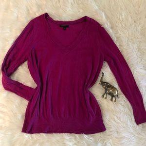 Vibrant Lane Bryant Plum V Neck Sweater 18/20